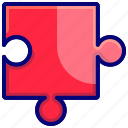 puzzle, quiz, solution, strategy icon