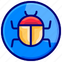 bug, defect, insect, issue, repair, security icon