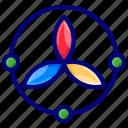 color, color picker, color wheel, rgb icon