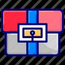 briefcase, job, office, portfolio, suitcase icon