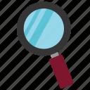 desktop, megnifire, monitor, optimization, pc, search icon, • computer icon