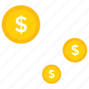 deposit, earnings growth, income growth, increase in profits, money icon, • coints icon