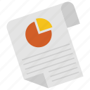 graph, layout, page, pie icon, • chart icon