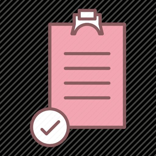 checkmark, list, ok, survey icon
