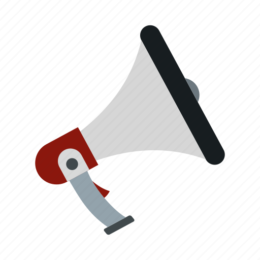 Announcement, communication, loud, loudspeaker, megaphone, message, speaker icon - Download on Iconfinder