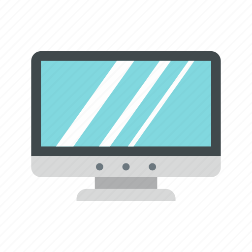 computer, display, modern, office, pc, screen, technology icon