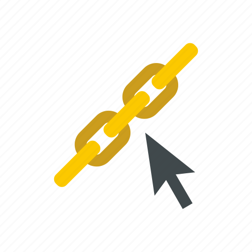 chain, concept, connection, hyperlink, internet, link, strength icon
