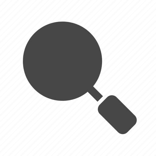 magnifying glass, search, seo icon