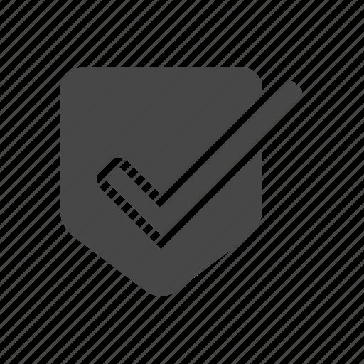 accept, seo, shield icon