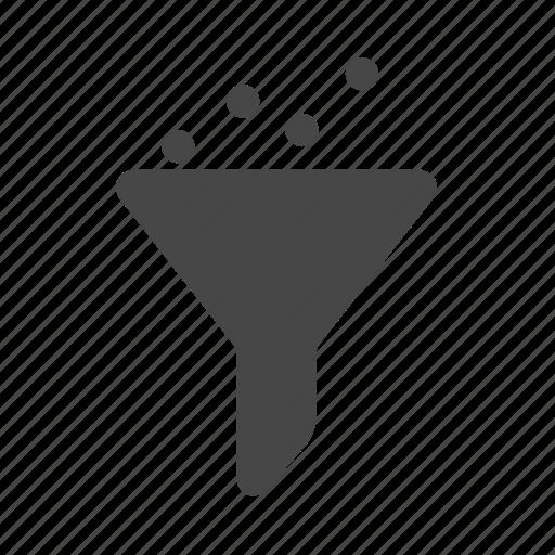 filter, funnel, sales, seo icon