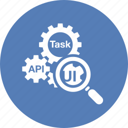configuration, functional analysis, gear, usability icon