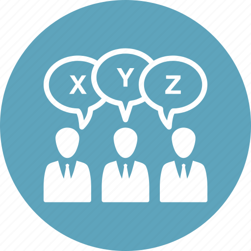 business meeting, survey, teamwork, usability icon