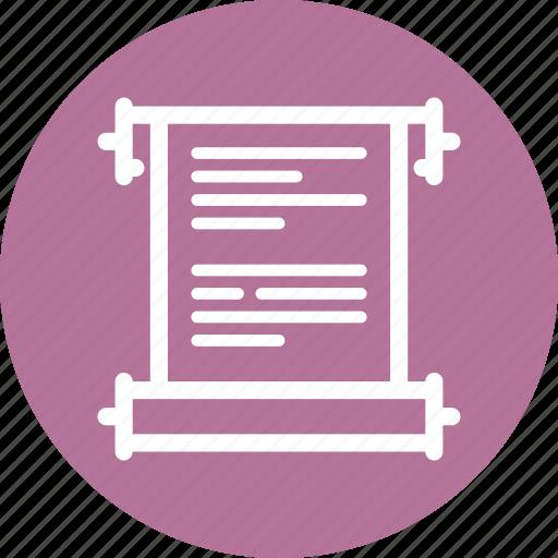 scenarios, story, web content icon