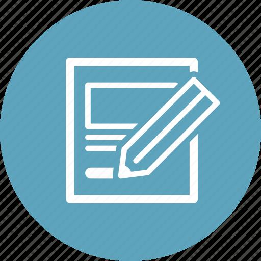 edit, sketch icon
