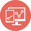 business growth, seo analytics, statistics, web analytics icon
