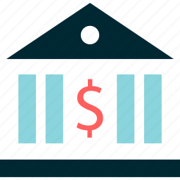 bank, banking, dollar, online, sign icon
