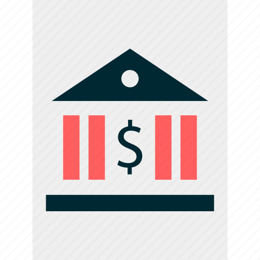 bank, banking, loan, online, web icon