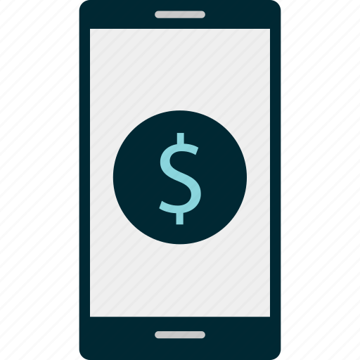 banking, call, dollar, money, online, sign icon