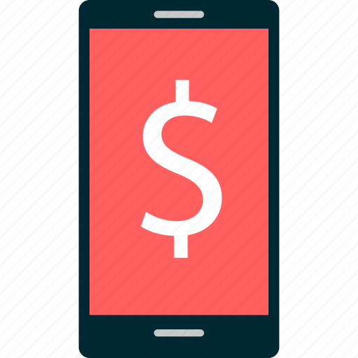 call, cell, dollar, money, phone, sign icon