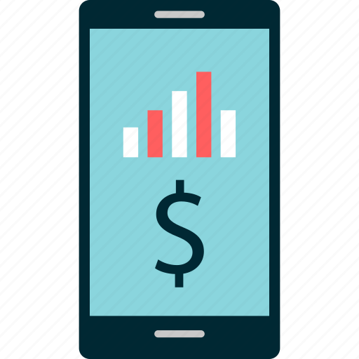 banking, chart, data, graph, online, report icon