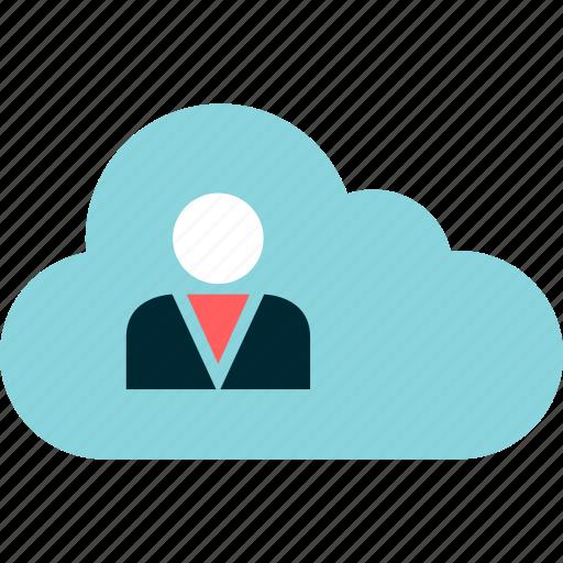 cloud, data, friend, guardar, save, user icon
