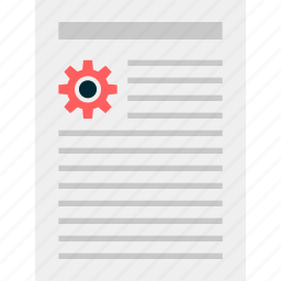business, document, layout, page, report icon