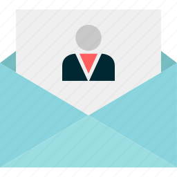 boss, email, envelope, friend, mail, message icon