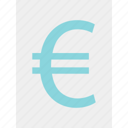 euro, money, online, sign, wealth icon