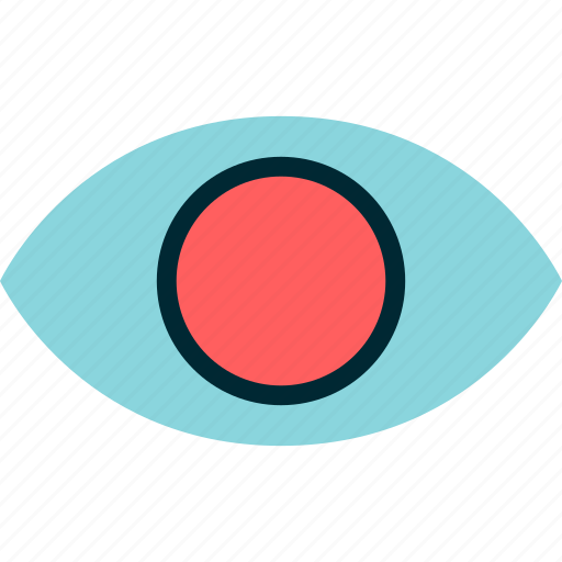 eye, find, google, look, search icon