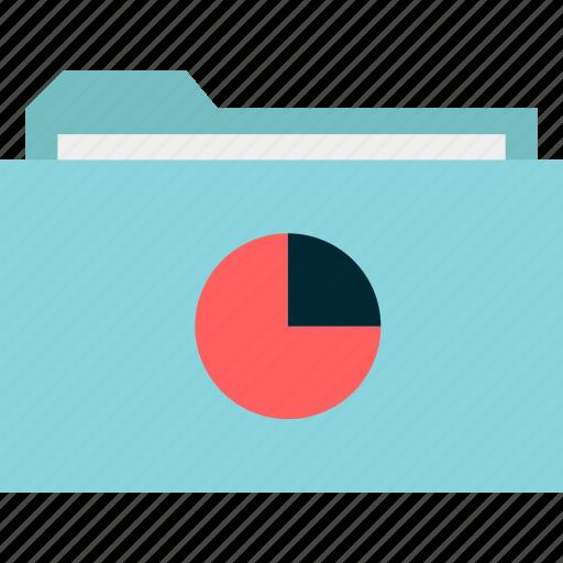 archive, chart, folder, graph, guardar, pie, save icon
