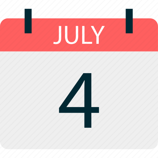 event, four, holiday, july, month, schedule icon