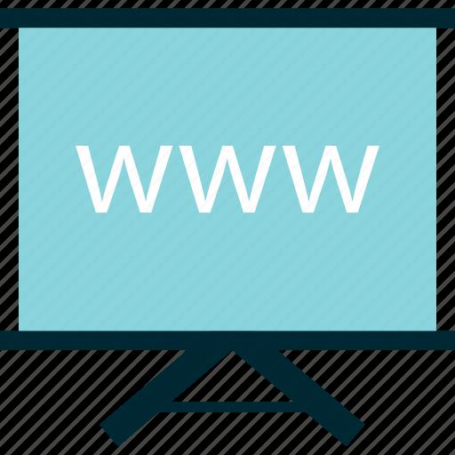 board, learn, online, planning, website, www icon