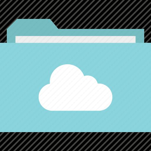 cloud, data, files, folder, save, saved icon