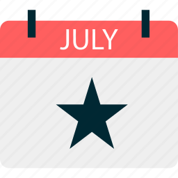 event, fourth, holiday, july, of icon