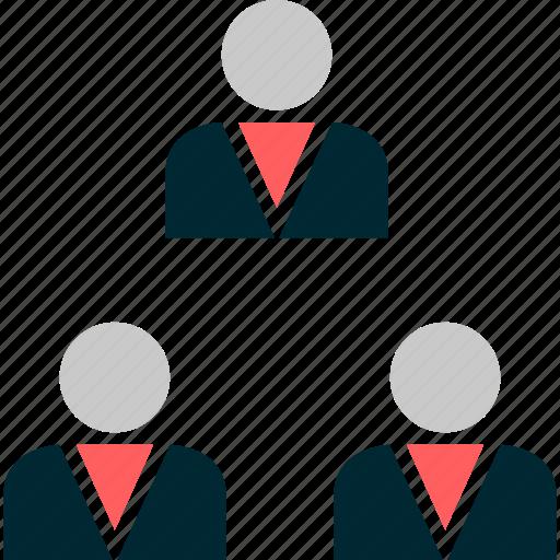 boss, friends, online, profile, team, users, web icon