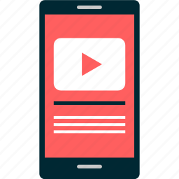 paly, player, tube, video, you, youtube icon