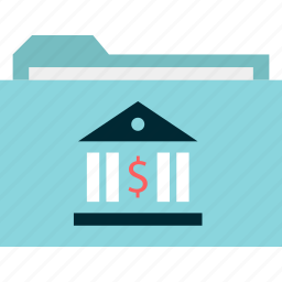 archive, banking, online, safe, secured, statements icon