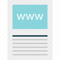 internet, online, web, website, wireframe, www icon
