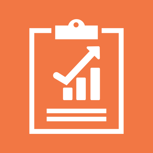 analytics, charts, clipboard, graph, monitoring, report, report sales icon
