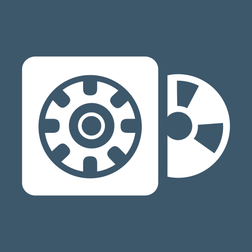 case, cd, gear, rom, settings, software, software package icon