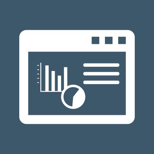 analytics, chart pie, charts, graphs, monitoring, report sales, window icon