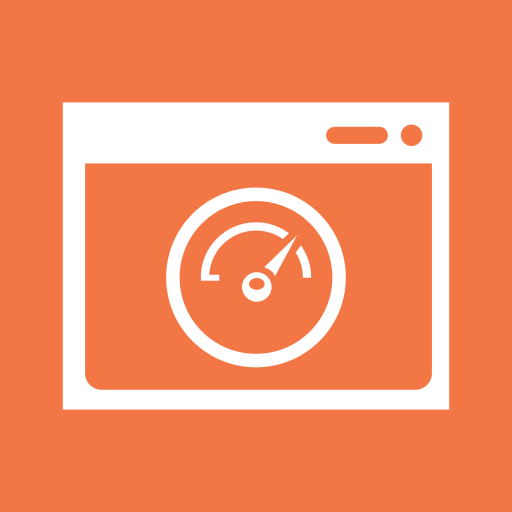 browser, page speed, speed, speedometer, time, window icon