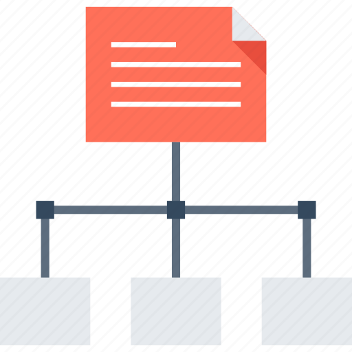hierarchy, map, menu, navigation, network, site, sitemap icon