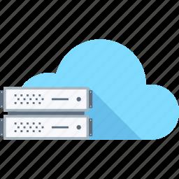 cloud, computing, hosting, internet, network, server, services icon