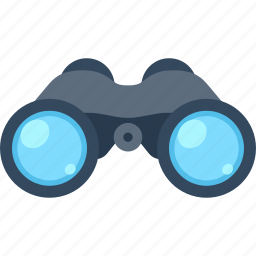 analysis, binoculars, explore, find, research, search, view icon