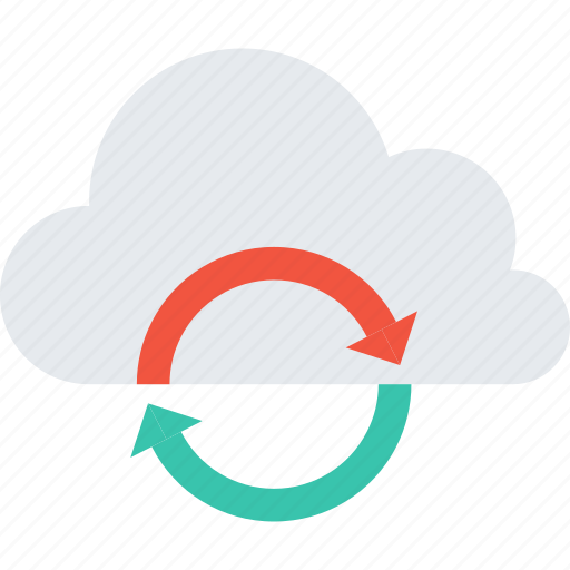 cloud, data, storage, store, sync, synchronization, update icon
