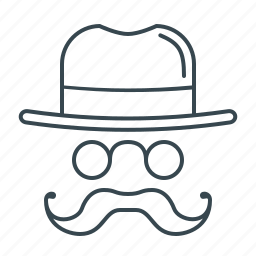 hat, internet, marketing, network, optimization, seo, white hat icon
