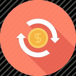 conversion, ecommerce, management, marketing, money, promotion, seo icon