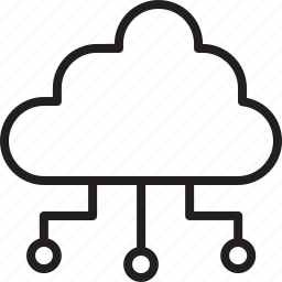 cloud, computer, connection, development, seo, server, service icon