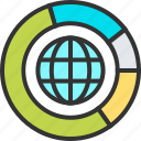 big, business, chart, data, internet, network, storage icon